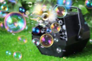Buborékfújó gép rendezvényekre - Photobomb.hu